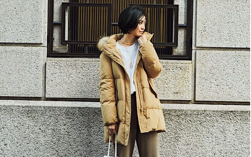 【今日の服装】ミディ丈ダウンであか抜ける、最旬スタイルって?【アラサー女子】