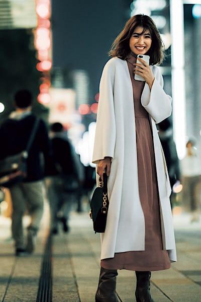 【今日の服装】モテコーデに欠かせない、主役級アイテムは…?【アラサー女子】