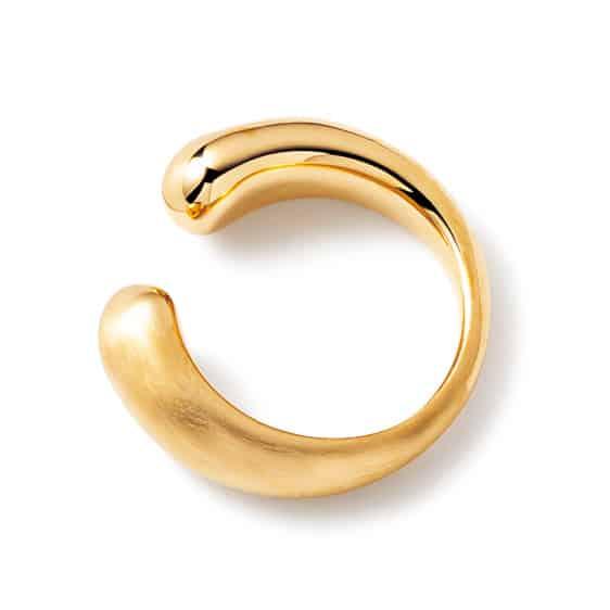 2.ゴールドイヤーカフ ¥7,