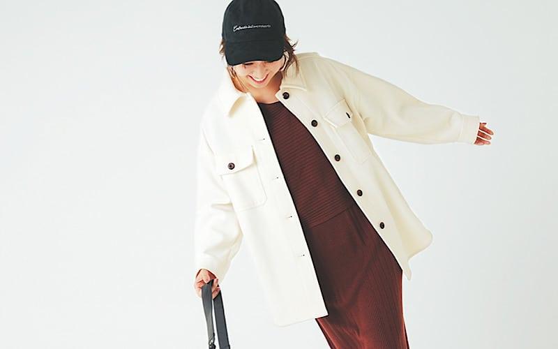 【今日の服装】今ドキっぽい、CPOジャケットの着こなしって?【アラサー女子】