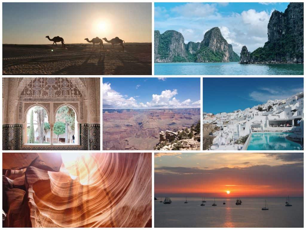 一生に一度は訪れたい!世界の絶景スポット5選【2020年最初の旅先はこれで決まり!】