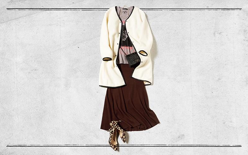 あったか&女っぽいって最強♡ ニットスカートを指名【真冬の着回しDiaries Part④】