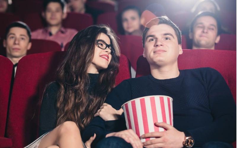 「映画館」