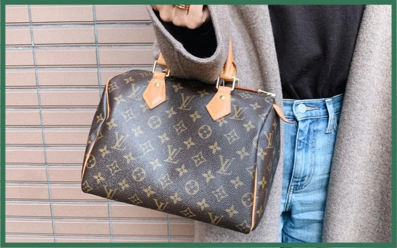 【低身長女子はこのサイズ!】ヴィトンのスピーディ25はずっと使える定番バッグ