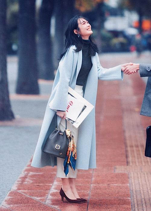 【今日の服装】絶対モテると噂の冬コートの着こなしって?【アラサー女子】