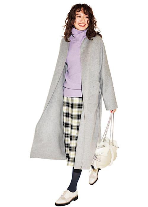 【今日の服装】華やか通勤コーデのポイントはどこにある?【アラサー女子】