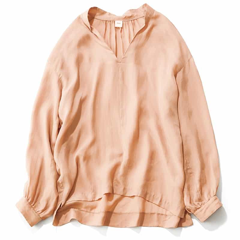 【D】ゆるシルエットのシャツ