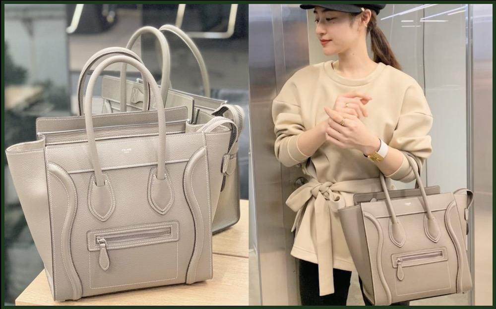 【アラサー女子の憧れバッグ】セリーヌの「マイクロラゲージ」で絶対オススメのカラーって?