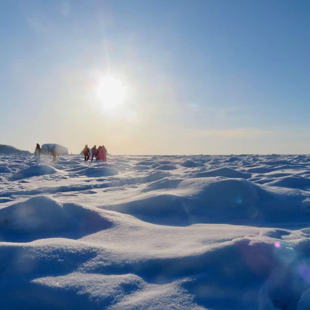旅作家が推薦!「国内唯一の壮大な流氷」【コタン村( 帯広)編】|アラサー女子旅
