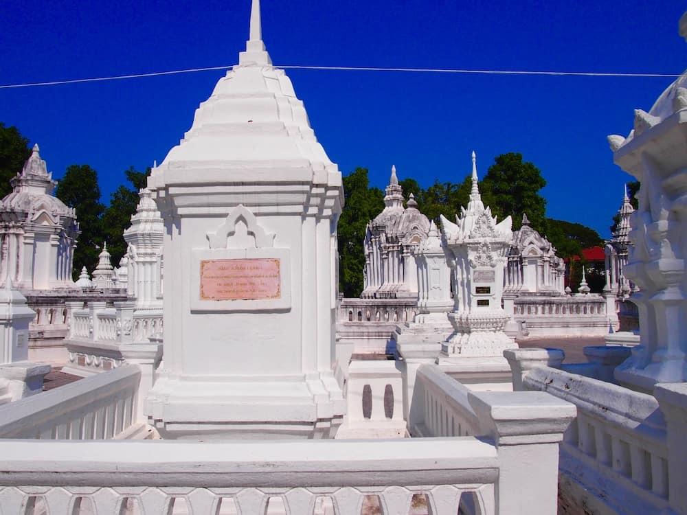 タイの古都チェンマイにある寺院