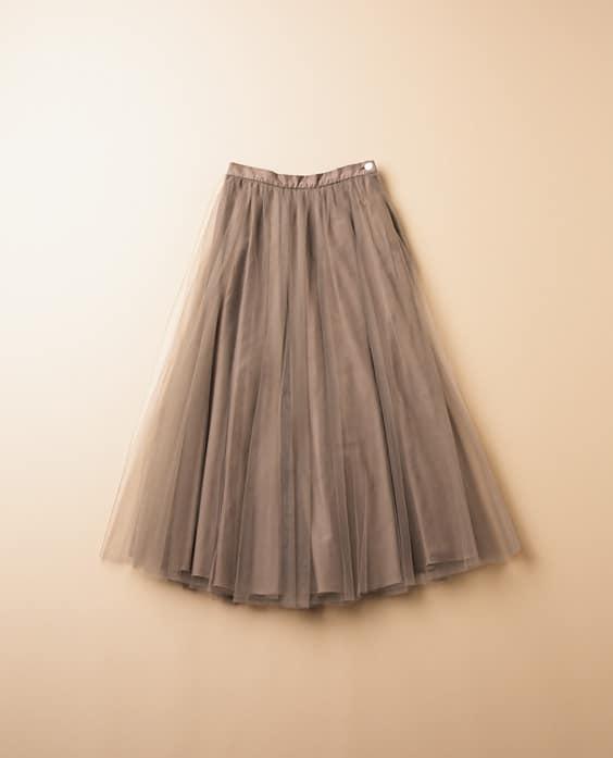 2020年版「スカート」の最高にオシャレな履き方【チュールスカート編】
