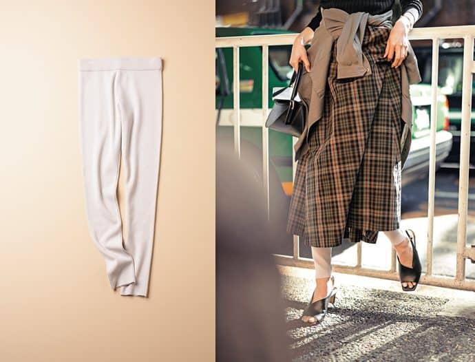 2020年版「スカート」の最高にオシャレな履き方【レギンス編】