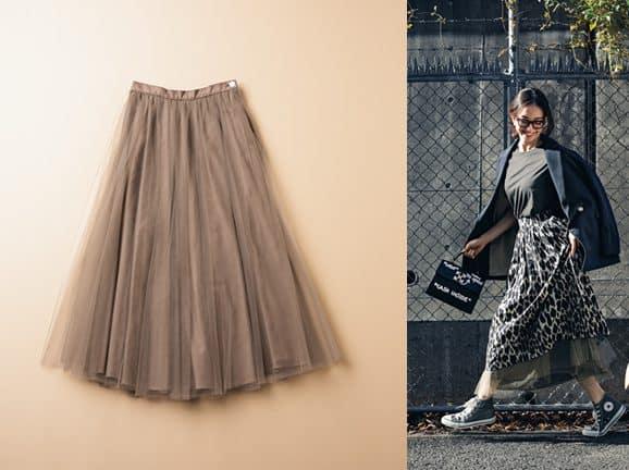 知ってますか?スカートはいま「重ねてはく」のがオシャレなんです!【チュールスカート】