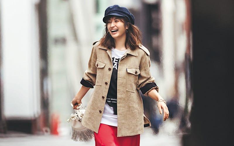 【今日の服装】女っぽサテンスカートをカジュアルダウン、その技とは?【アラサー女子】