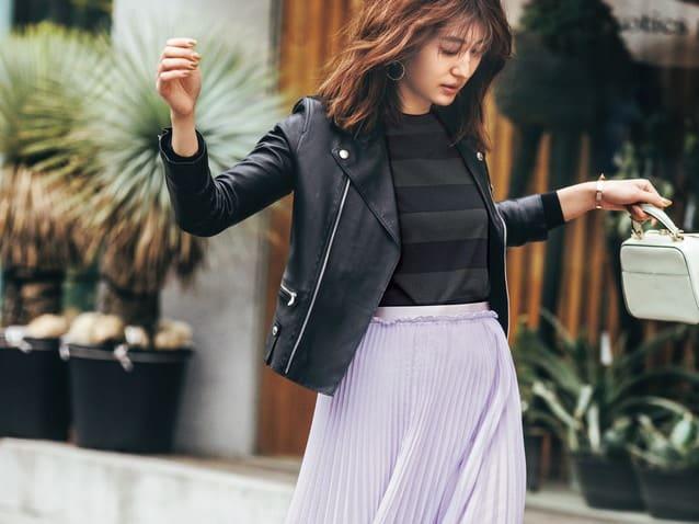 今買うべきスカート第1位「プリーツスカート」の正しい選び方