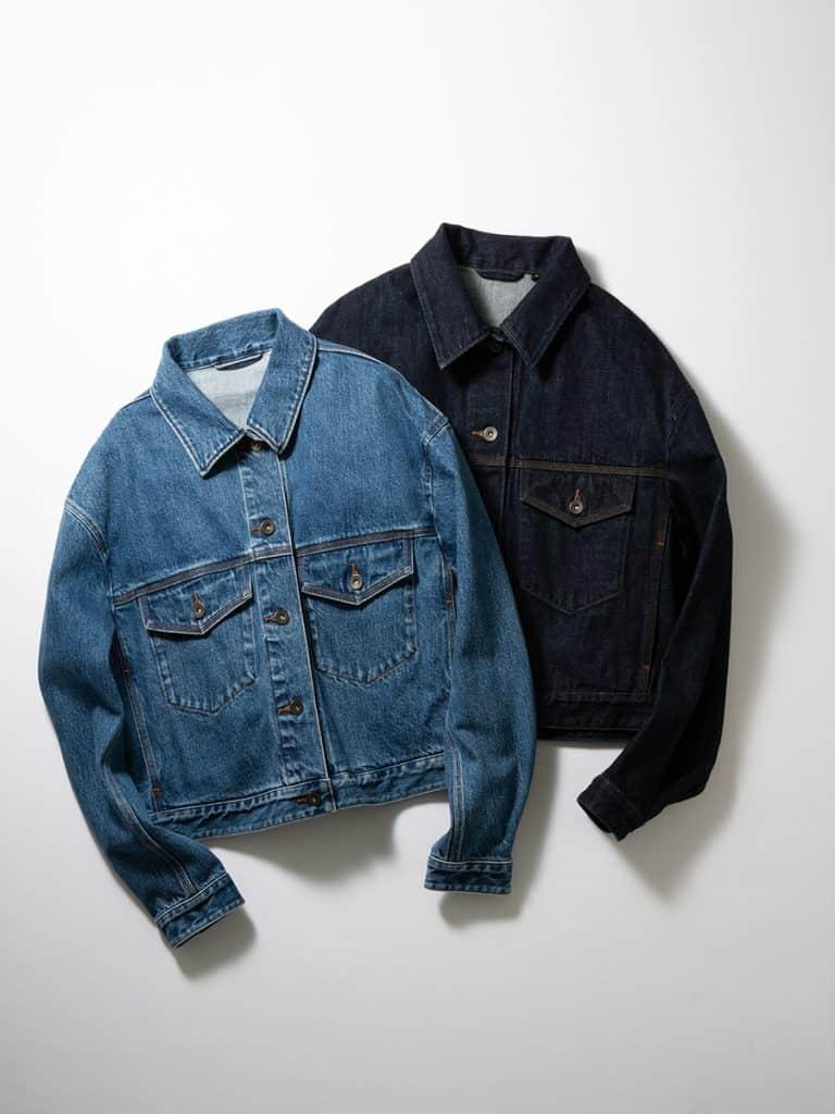ユニクロUの最新デニムジャケットは羽織るだけで今ドキ見え! 【150㎝~身長別に着比べ】