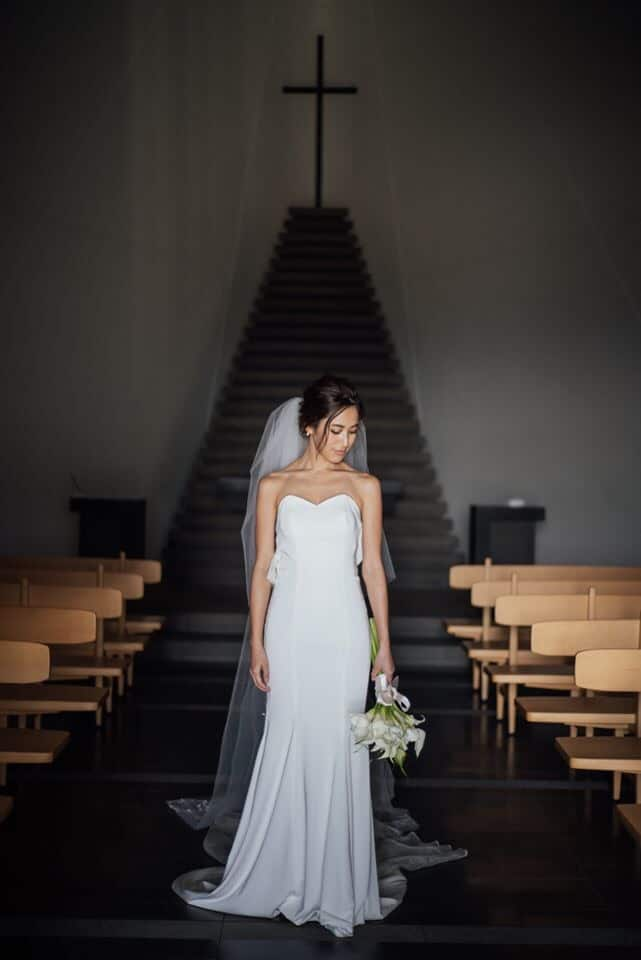骨格診断別・アラサー花嫁がリアルに式で着たウェディングドレス5選