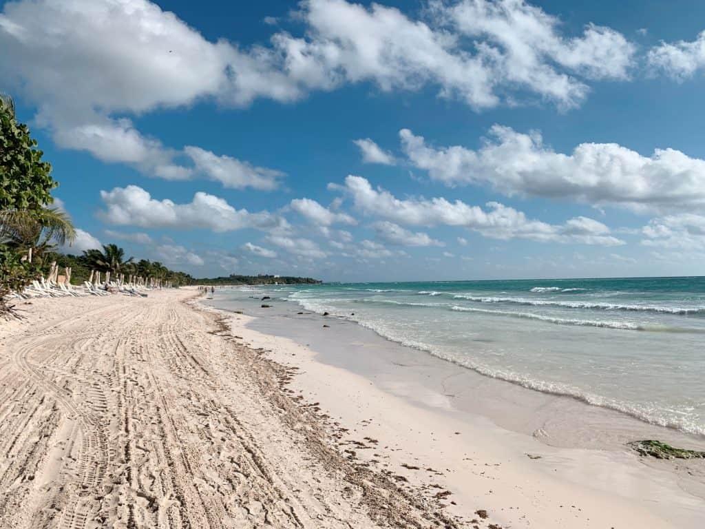 言うまでもなくカリブ海のビーチ