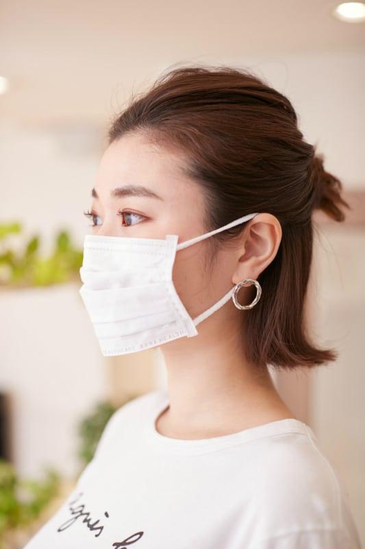 特に花粉対策でのマスクの場合は