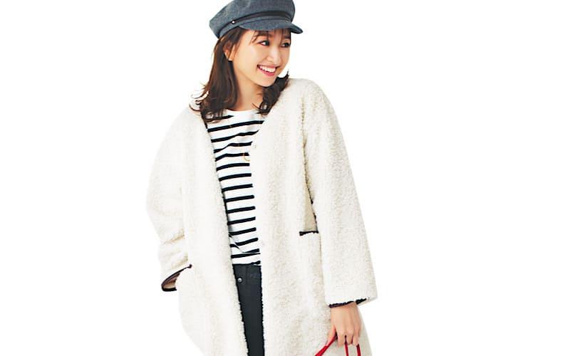 【今日の服装】甘すぎずちょうどいい、モテカジュアルの着こなしって?【アラサー女子】