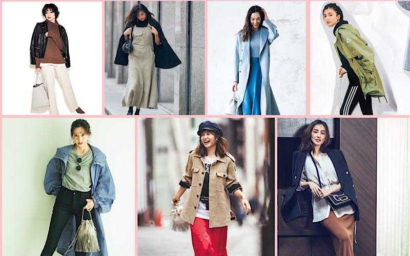 【今週の服装】春だけど肌寒い日のアラサー向けコーデ7選