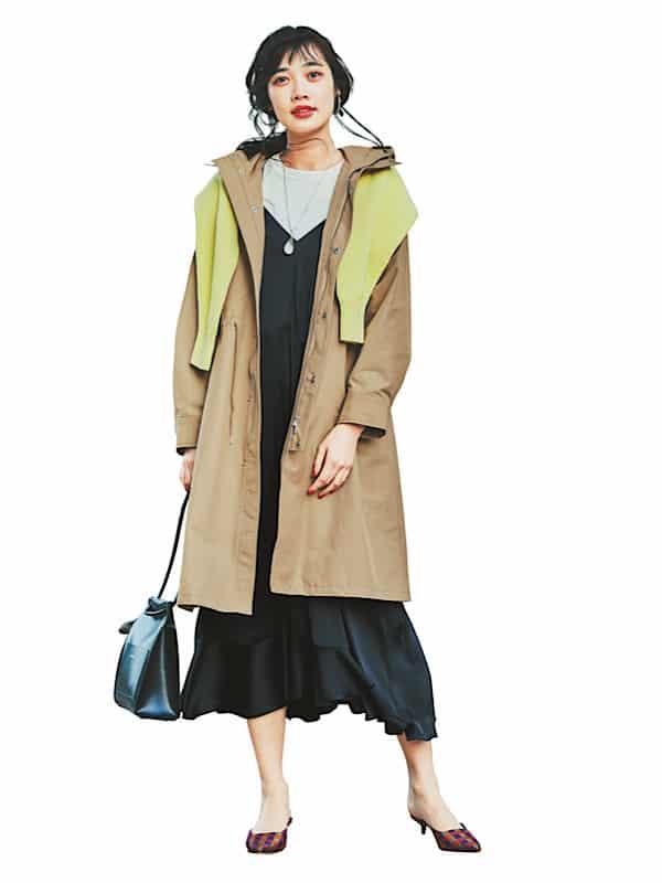 【今日の服装】トレンチ感覚で着られるアウター、ご存知ですか?【アラサー女子】