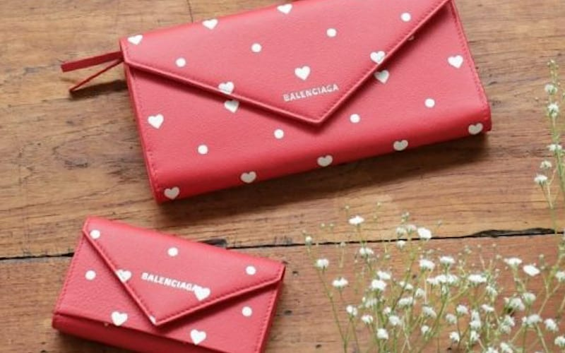 【最新】バレンシアガのハート柄財布が可愛すぎる!