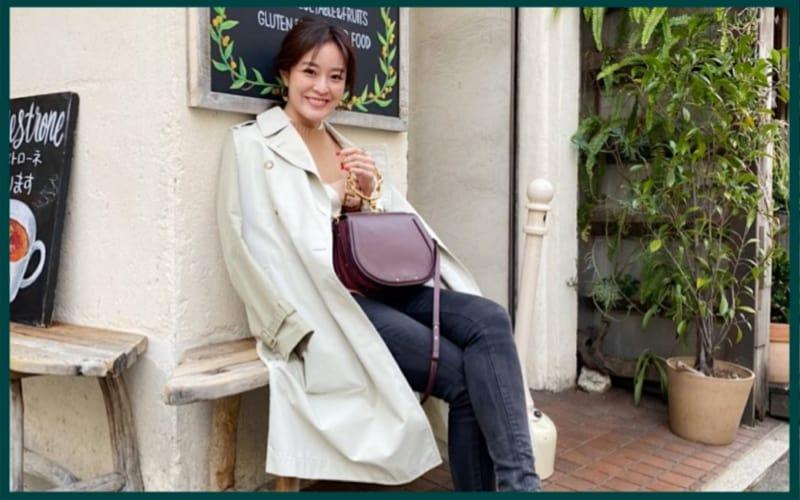 2020年春のトレンチコートコーデは、大人っぽくワントーンで着るのが気分!
