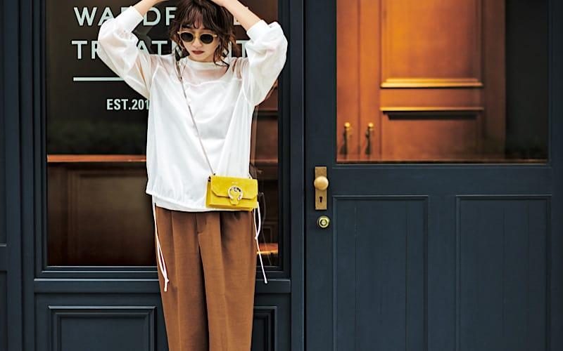 【今日の服装】引き続き流行のブラウン、春らしく着こなすには?【アラサー女子】