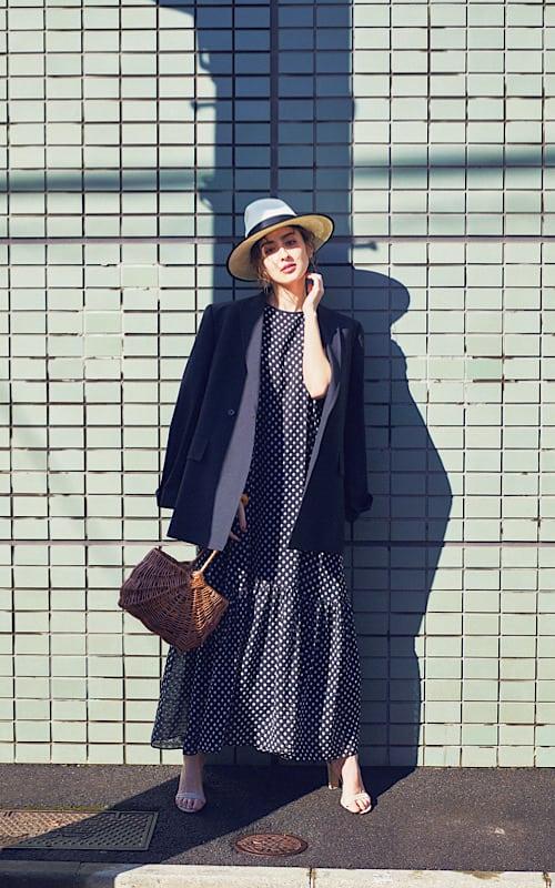 【今日の服装】スカートを甘くならないように着る簡単テクって?【アラサー女子】