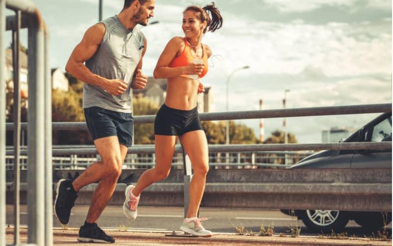 3.運動好きカップルはランニングデート