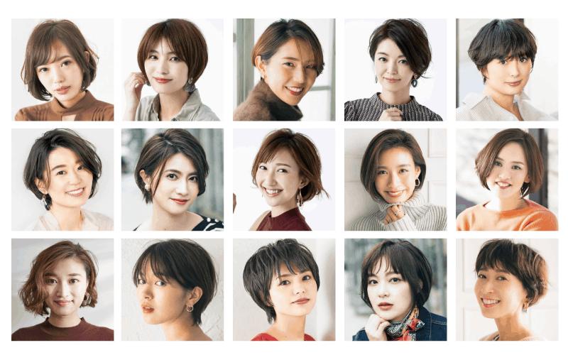 2020年春夏おすすめショートヘア17選|アラサー女子のトレンドの髪型を紹介