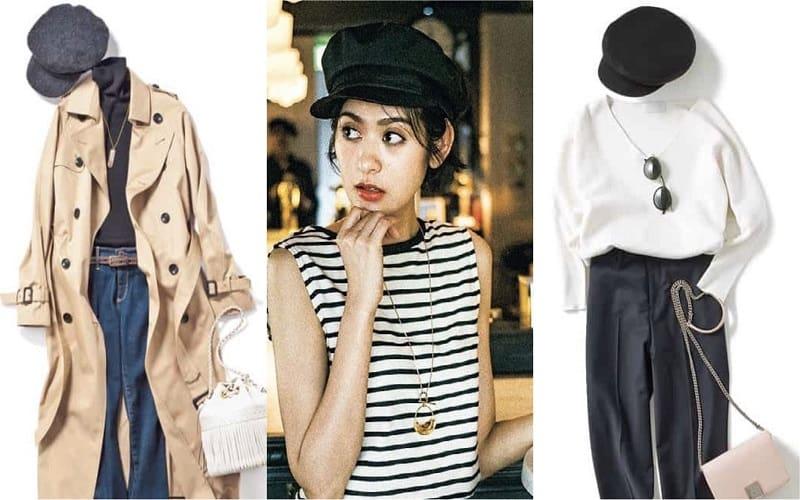 「キャスケット」コーデ35選|アラサー女子の春夏ファッション【2020年最新版】
