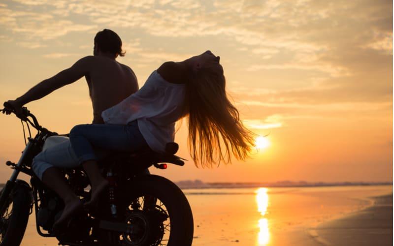 バイクでデート