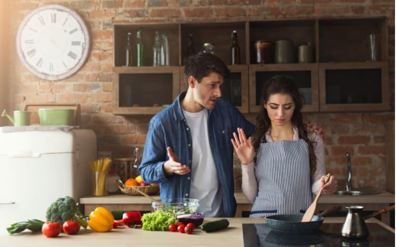 「ご飯を作ったら『うちの嫁と比