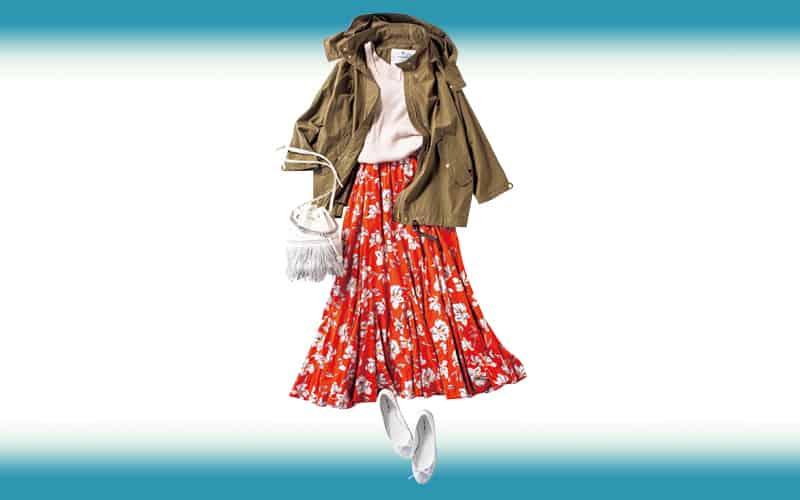 女のコらしさバツグンのスカートもフォトTで普段仕様【今日の着回しDiary】