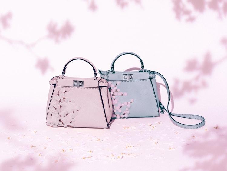 【日本限定】憧れバッグ、フェンディのピーカブーから希少な桜デザインが登場!