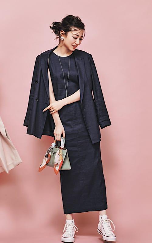 【今日の服装】大人っぽいのにカジュアルを叶えるシンプルコーデって?【アラサー女子】