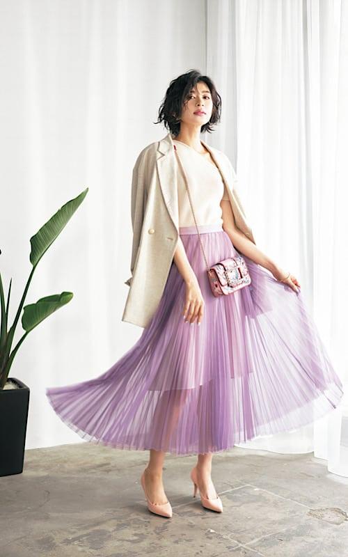 【今日の服装】エロすぎない「シースルー」コーデのポイントって?【アラサー女子】