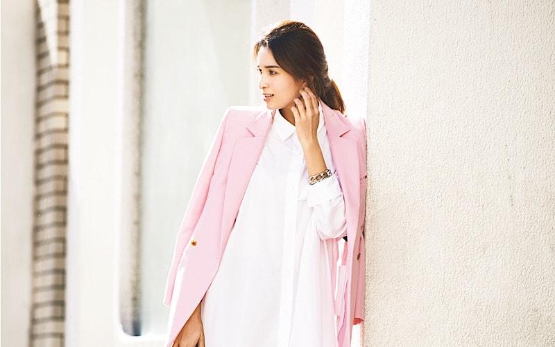 【今日の服装】桜の季節、大人女子のピンクコーデの正解は?【アラサー女子】