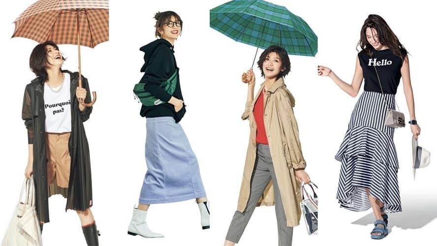 梅雨時期におすすめ「雨の日コーデ」50選 | 大人カジュアルスタイル【2020年最新版】