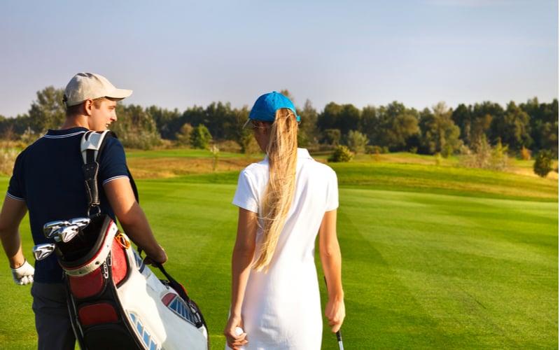 朝からゴルフデート(♀既婚×♂既婚)