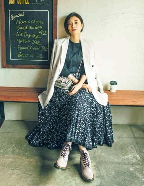 ドクターマーチンコーデ30選|人気ブーツを使った大人女子向けファッション【2020年春】