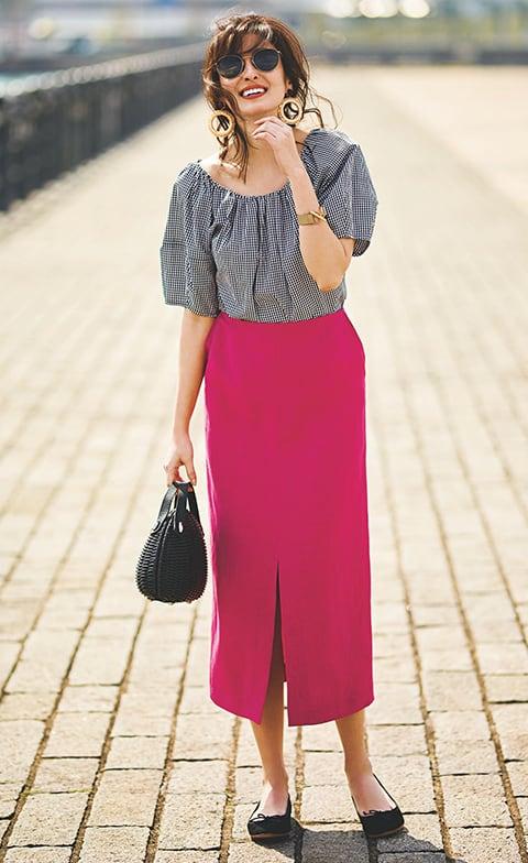 着映え力抜群の鮮やかなピンクス