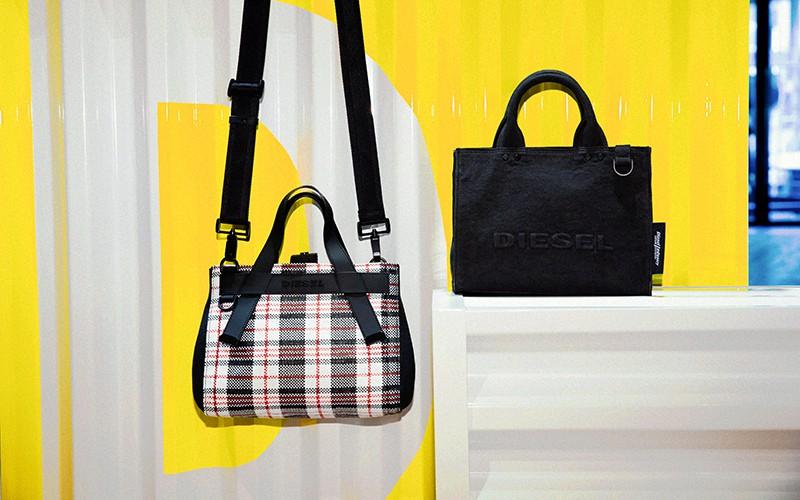 オシャレ女子なら必ずチェックすべき! 「DIESEL」の日本限定2WAYトートバッグ