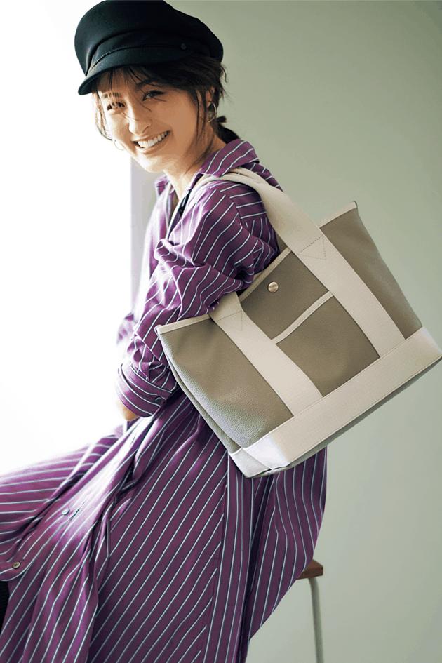 トートバッグコーデ52選|実用的でオシャレ!荷物が多いアラサー女子におすすめ【2020最新】