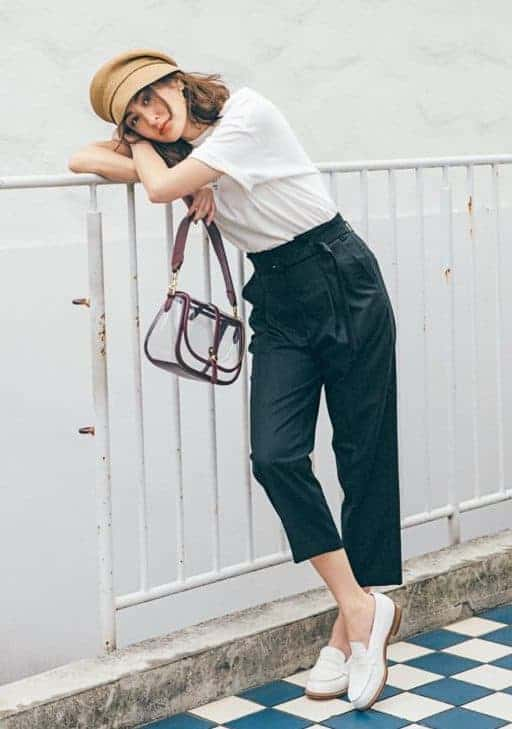 白Tシャツコーデ55選|大人の女性に似合うアイテム別着こなしテク【2020年春夏】