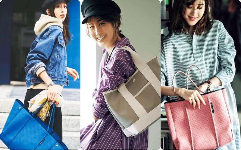 トートバッグコーデ52選 実用的でオシャレ!荷物が多いアラサー女子におすすめ【2020最新】