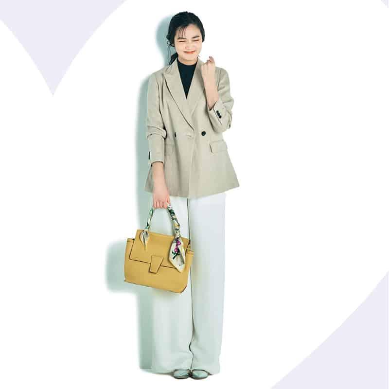 チェック・リネン・ノーカラー、旬のジャケットコーデ特集【まとめ③(4/21~30のコーデ)】