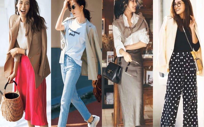 オフィスカジュアルコーデ51選|大人の女性向けオシャレで好印象な通勤服【2020年春夏版】